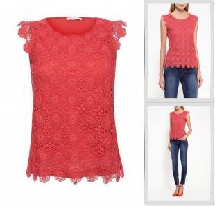 Красные футболки, футболка zarina, осень-зима 2016/2017