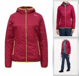 Розовые куртки, куртка утепленная regatta, осень-зима 2016/2017