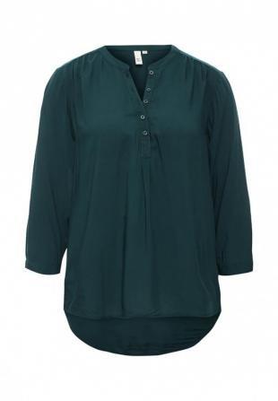 Зеленые блузки, блуза q/s designed by, осень-зима 2016/2017