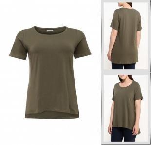 Хаки футболки, футболка fiorella rubino, осень-зима 2016/2017