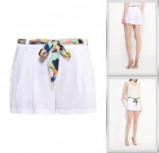 Белые шорты, шорты baon, весна-лето 2016