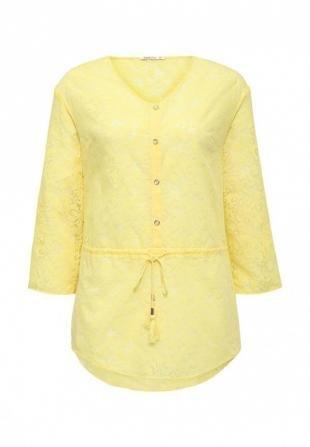Желтые блузки, блуза zarina, осень-зима 2016/2017