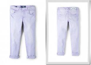 Фиолетовые джинсы, джинсы mango kids, осень-зима 2015/2016