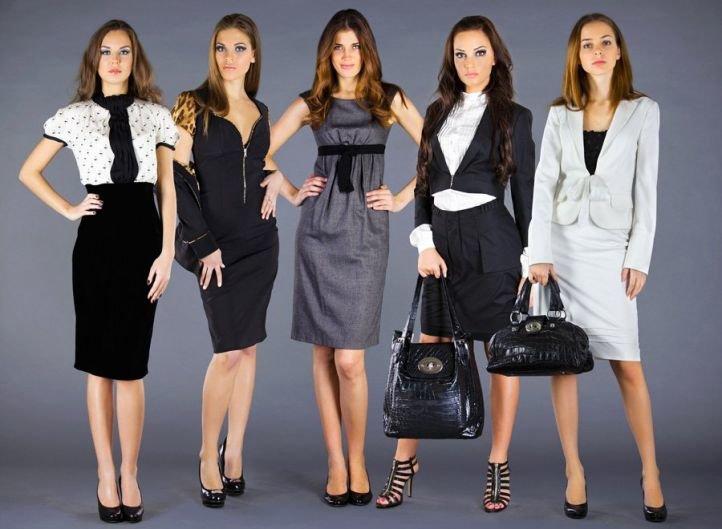Подбор обуви к платью в деловом стиле