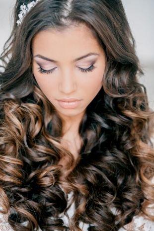 Свадебный макияж для серо-голубых глаз, изящный свадебный макияж