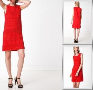 Красные платья, платье defacto,