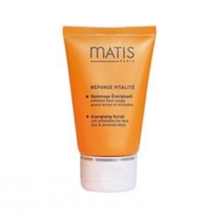Отшелушивающий скраб для лица, matis reponse vitalite energising scrub (объем 50 мл)