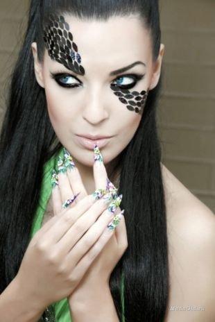 Арт макияж, арт-визаж на хэллоуин