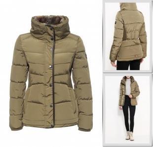 Хаки куртки, куртка утепленная halifax, осень-зима 2016/2017
