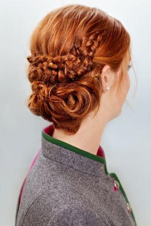 Прически на последний звонок на длинные волосы, необычная прическа на последний звонок с плетением