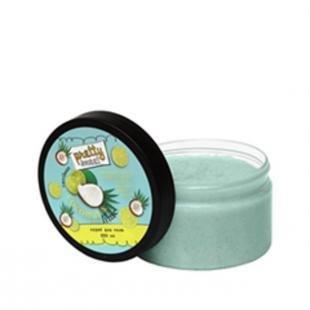 Скраб для тела из морской соли, tasha скраб для тела с ароматом кокоса и лайма (объем 250 мл)