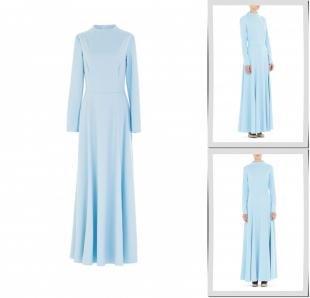 Голубые платья, платье bella kareema,