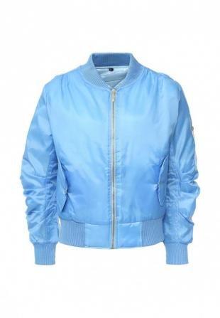 Голубые куртки, куртка утепленная missi london, осень-зима 2016/2017