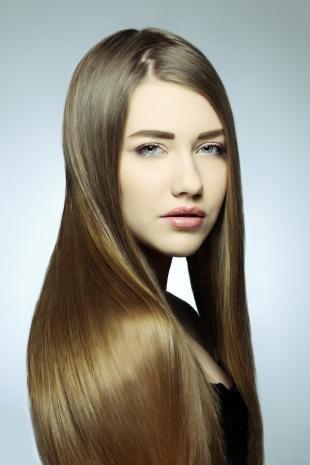 Темно русый цвет волос, черепаховый оттенок волос