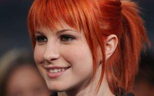 Макияж для рыжих с серыми глазами, макияж в натуральной гамме для ярко-рыжи волос