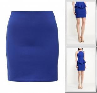 Синие юбки, юбка adl, весна-лето 2016