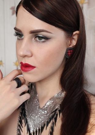 Макияж для брюнеток с серыми глазами, великолепный вечерний макияж для брюнеток