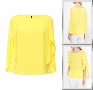 Желтые блузки, блуза bestia, весна-лето 2016
