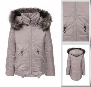 Серые куртки, куртка утепленная sly, осень-зима 2016/2017