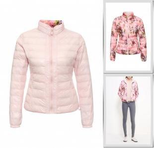 Розовые куртки, куртка утепленная softy, осень-зима 2016/2017