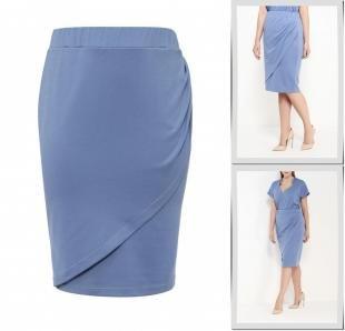 Голубые юбки, юбка contraposto,
