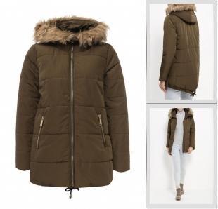 Хаки куртки, куртка утепленная top secret, осень-зима 2016/2017